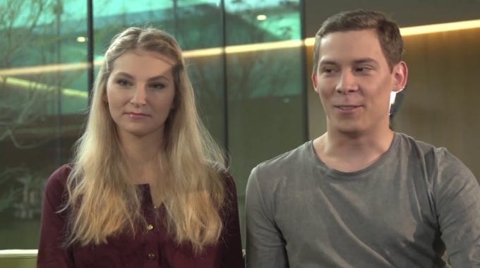 Erfolgsgeschichte - Katharina und Manuel