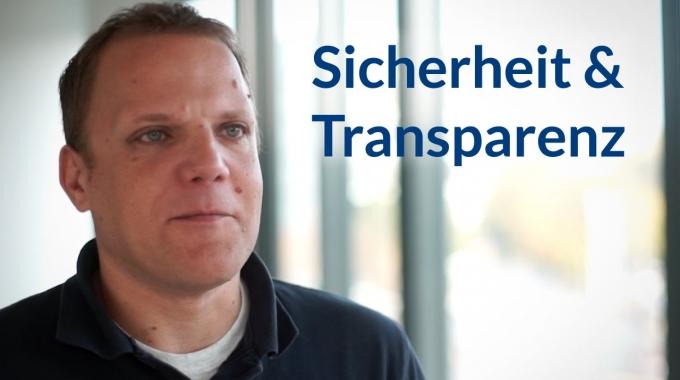 Sicherheit & Transparenz - Become an inovexpert