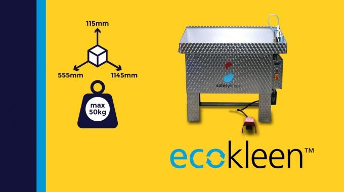 """Ecokleen M195"" - bioaktiver Pinselwaschtisch"