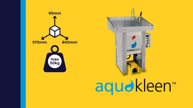 """""""Aquakleen M200"""" - manueller Teilereiniger mit Einweichoption (M100 Eco)"""