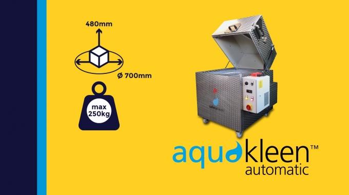 """""""Aquakleen automatic M212"""" - Toplader Reinigungsanlage (M110 Eco)"""