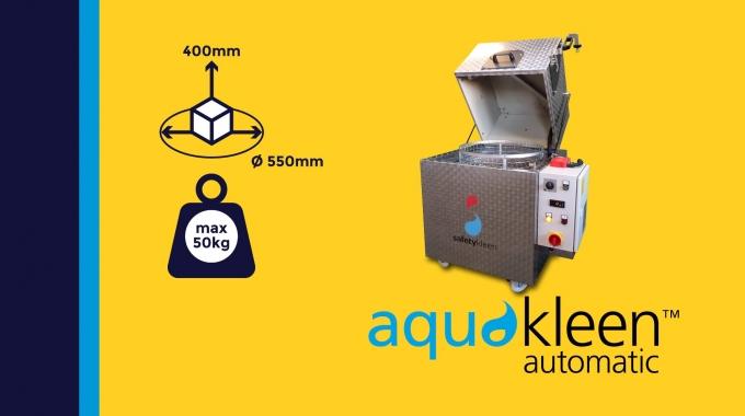 """""""Aquakleen automatic M205"""" - kompakte Toplader Reinigungsanlage (M105 Eco)"""