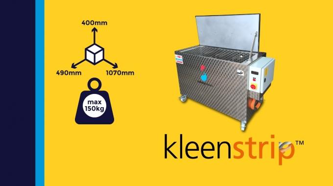 """""""Kleenstrip M915"""" - umweltfreundliche Entlackung von Safetykleen"""