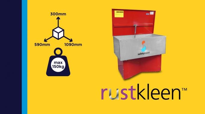 """""""Rustkleen"""" - pH neutrale Entrostung mittels Tauch-Anwendung"""