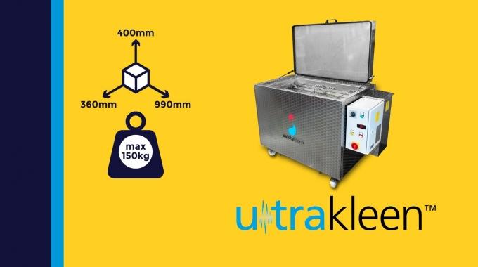 """""""Ultrakleen"""" - Präzisionsteilereinigung mit Ultraschall"""