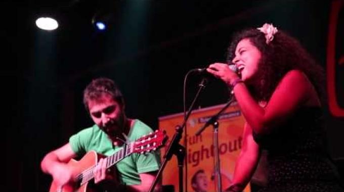 Teleperformance Portugal - For Fun Festival 2015 - Music -  Pablo Ruiz e Pilar Villen