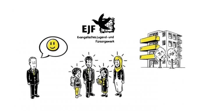 EJF Flüchtlingshilfe, Erklärvideo