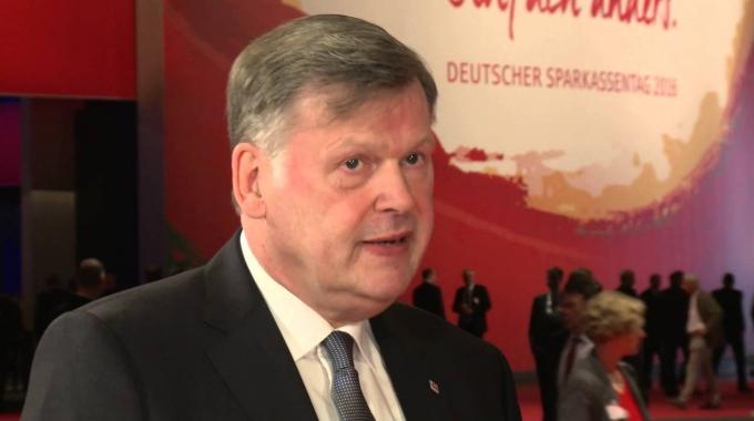 Franz-Theo Brockhoff beim Sparkassentag