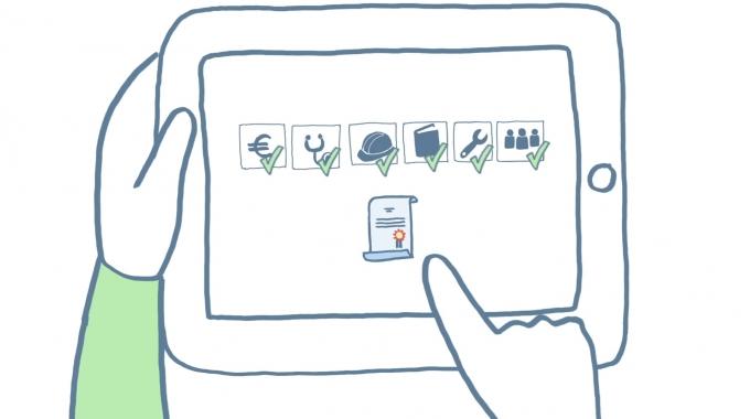 Coursepath: Kurse für Mitarbeiter und Partner erstellen – einfach und sicher.