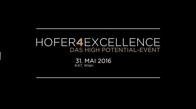 Hofer4Excellence 2016