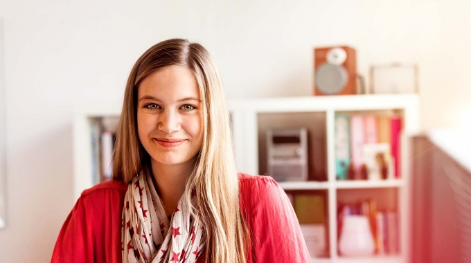 Ausbildung bei der Sparkasse: Kristin