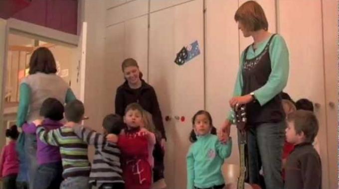 Einblick in den Alltag einer Erzieherin in der Kindertagsstätte