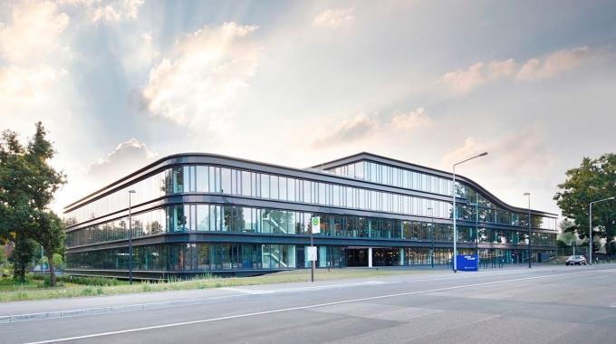 The visionary new Team Bank HQ - easyCredit Haus - in Nuremberg, Germany