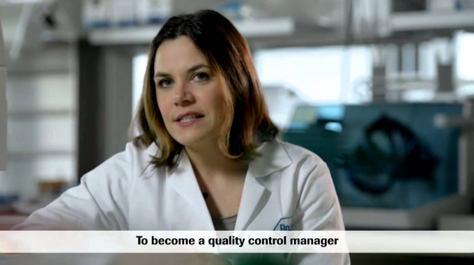 Treffen Sie Marie, Quality Control Manager bei Roche