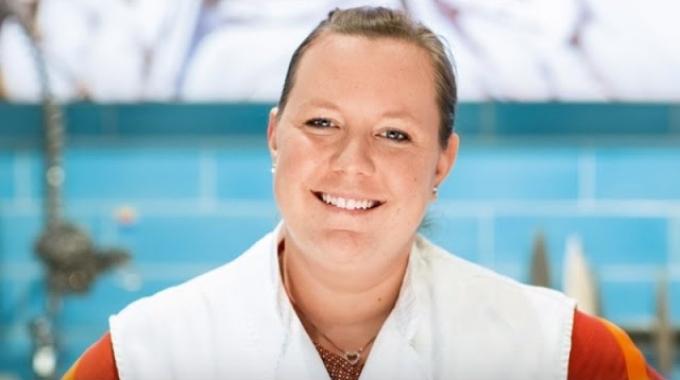 Sandra Schär, Fachleiterin Fisch, MMM Shoppyland Schönbühl
