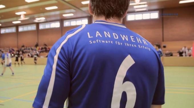 LANDWEHR beteiligt sich an Fußball-Benefizturnier