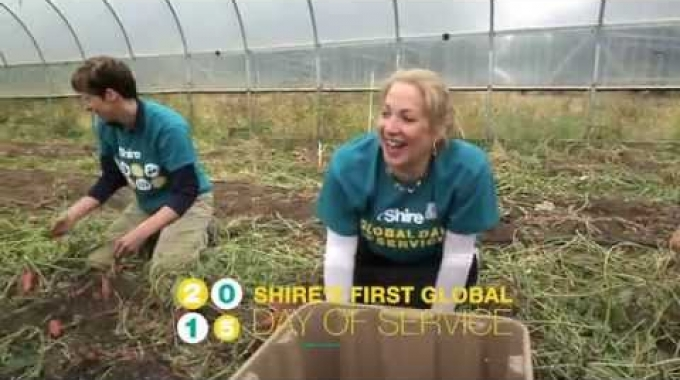 Shire's First Annual Global Day of Service
