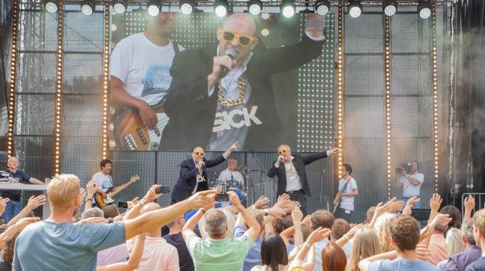 70 Jahre SICK: Mitarbeiterfest in Waldkirch