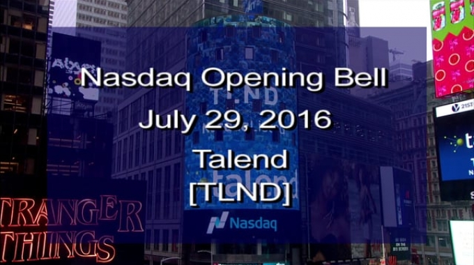 NASDAQ and Talend IPO Program