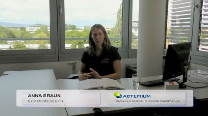 Systemingenieurin bei Actemium Cegelec Space in Kourou (Südamerika)