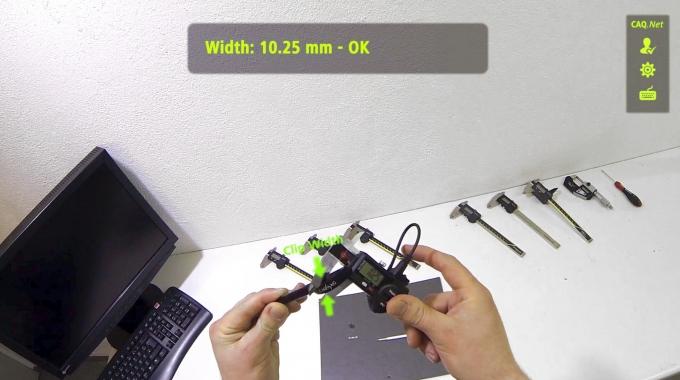 Augmented Reality Software-System zur Prüfdatenerfassung - CAQ AG