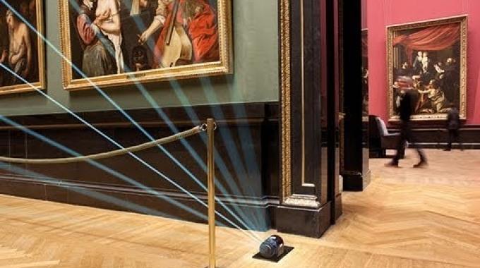 Kunsthistorisches Museum Wien: Kunstschätze absichern mit Laserdetektoren | SICK AG