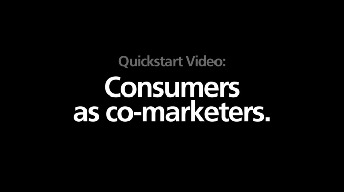 trnd presents: Consumer as co-marketers