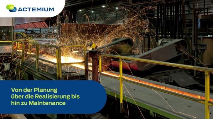 Actemium - Ihr Partner in der Stahlindustrie