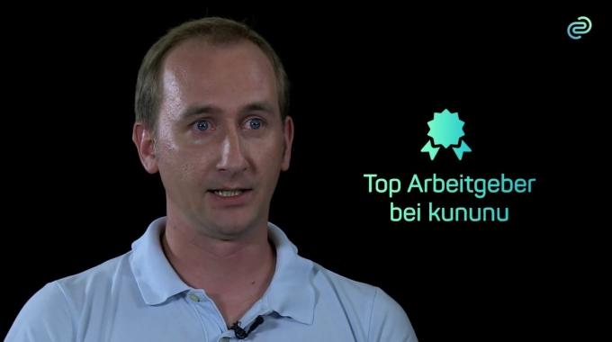 Mitarbeiter-Video über die codecentric als Arbeitgeber: Benjamins Wilms, Software ...