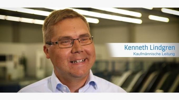 Kenneth Lindgren - Kaufmännischer Leiter / Mitglied der Geschäftsleitung