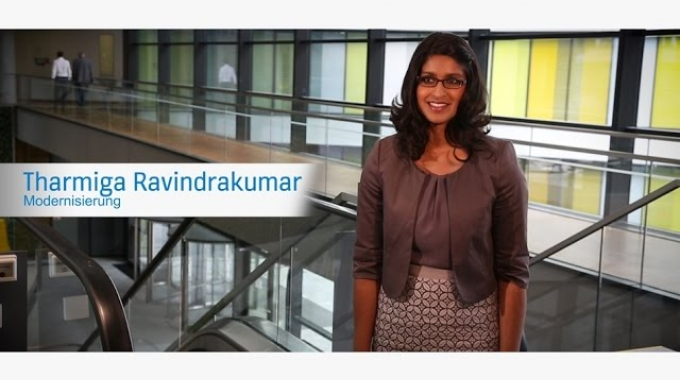Tharmiga Ravindrakumar - Aufzugsmodernisierung
