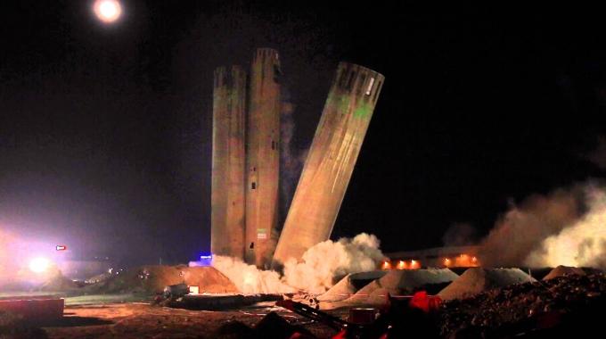 Max Wild Sprengung Zementwerk Wetzlar
