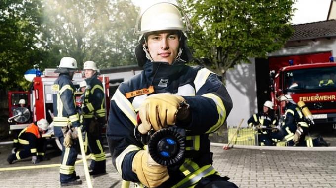 Karriere bei Techem: Testimonial Feuerwehrmann