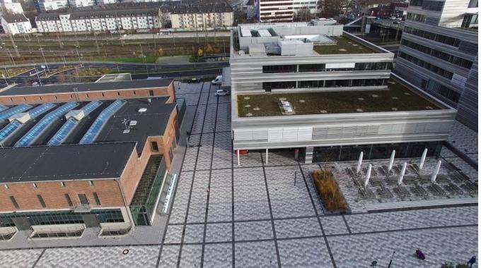 Campus Derendorf aus der Vogelperspektive