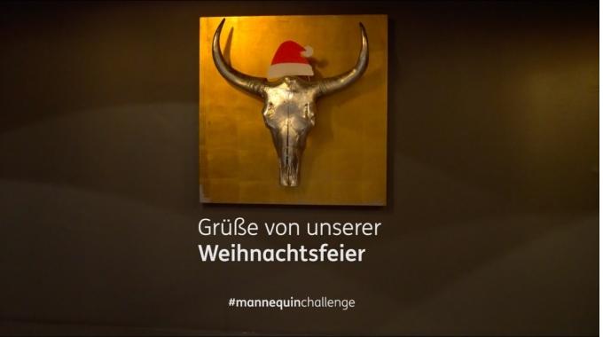 #mannequinchallenge - ING-DiBa Austria Weihnachtsgrüße 2016