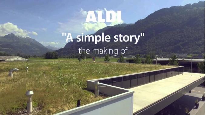 Making Of - ALDI Corporate Film with subtitles