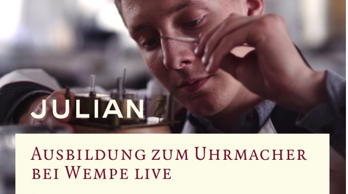 Ausbildung zum Uhrmacher bei Wempe live - Julian