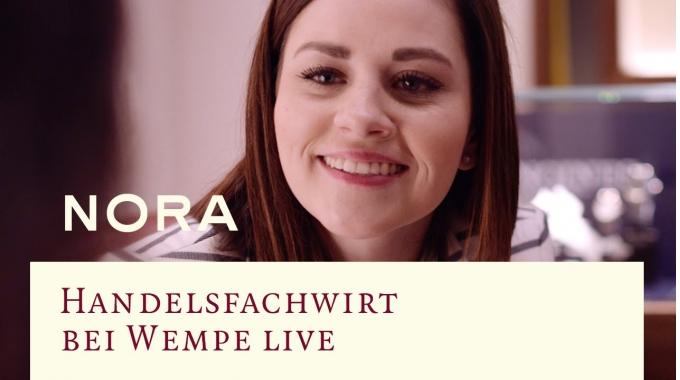 Handelsfachwirt bei Wempe live – Nora
