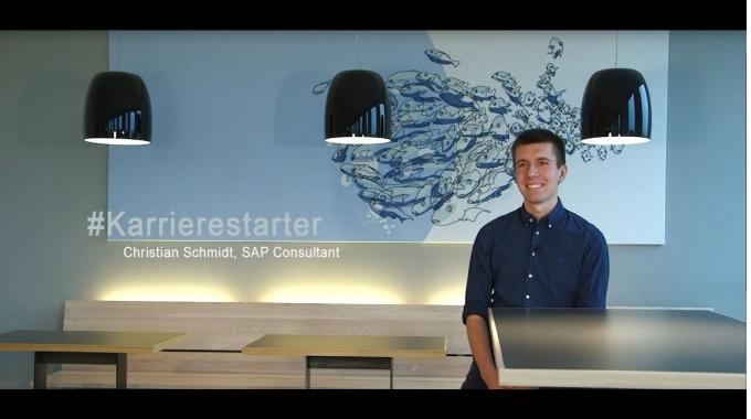 #MeineSAPKarriere: Christian Schmidt über seinen Karrierestart und die Einarbeitung als ...