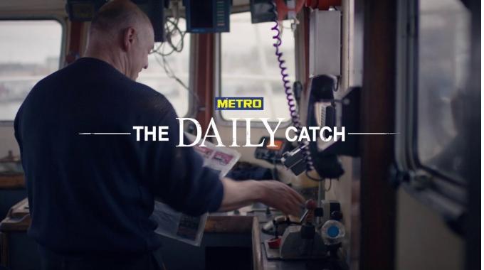 """""""METRO: The Daily Catch"""" - Mit dieser Idee räumte Serviceplan Campaign Hamburg u.a. einen..."""