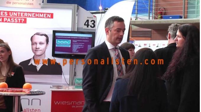 Wiesmann bei der Jobmesse Düsseldorf 2013