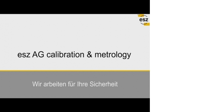 esz AG calibration & metrology Kalibrierlabor