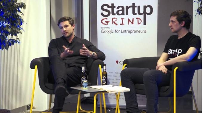 Startup Grind Cologne #1 - Sven-Oliver Pink (FOND OF BAGS)
