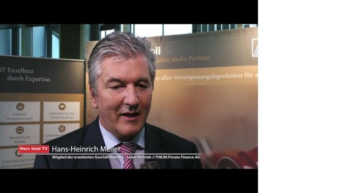 """FINUM Private Finance AG: Hans-Heinrich Meller zum Thema """"Neue Geschäftsfelder beim ..."""