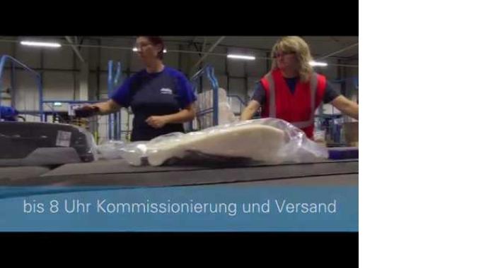 Deutschlands schnelles Logistikpaket