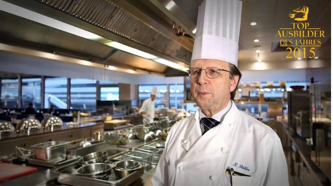 """Klaus Böhler, Küchendirektor und """"Top Ausbilder 2015"""" im Sheraton Frankfurt Airport ..."""