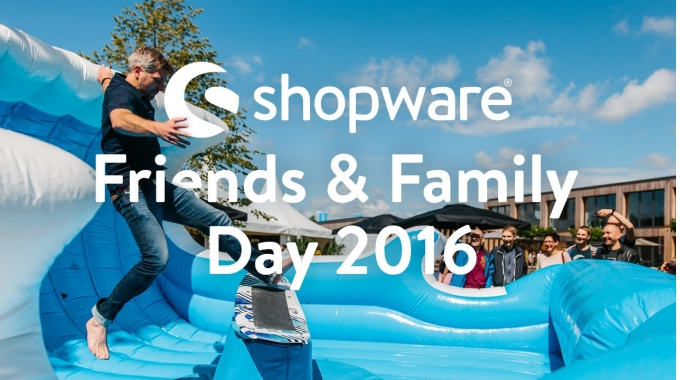 Shopware Friends and Family Day
