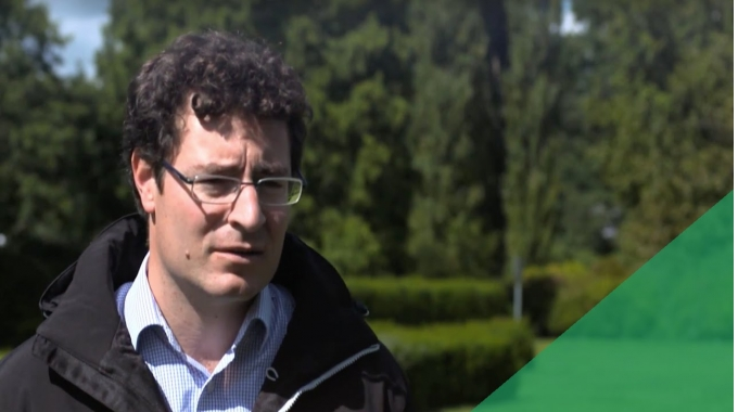DanTysk in 100 Sekunden – Die Menschen. Teilprojektleiter Troy Brown