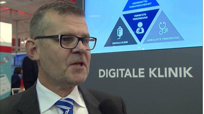 conhIT 2016: Interview mit Christoph Becker,  Compugroup Medical