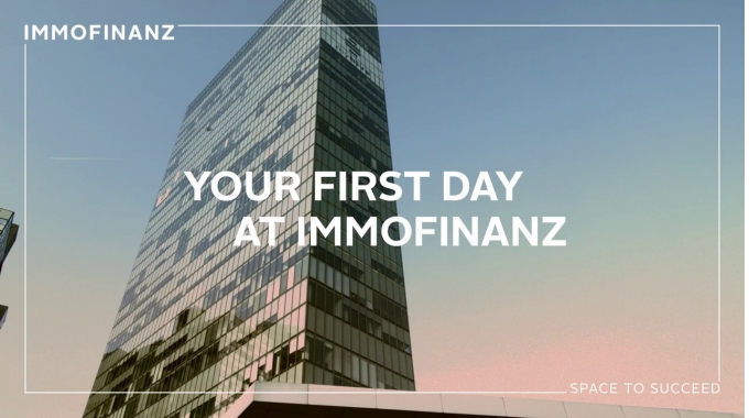 Your first day at IMMOFINANZ